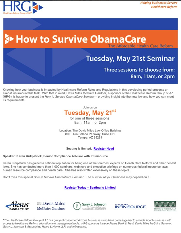 Health Care Reform Seminar